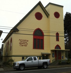 Amazing Grace Spiritual Center (Seattle WA, December 15/13).
