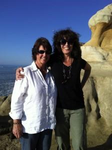 Torrey Pines State Beach with my Soul Sisters Deva Vani and Teri Wilder