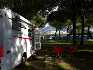 RVing in Assisi, Italy