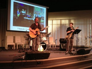 In concert at Unity of Fairfax
